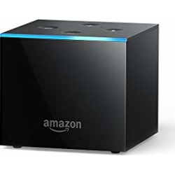 Fire TV Cube, hands-free with Alexa and 4K Ultra HD (includes all-new Alexa Voice Remote), streaming media player found on Bargain Bro from  for $119.99