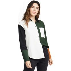 Chinti and Parker Colorblock Shirt found on MODAPINS from shopbop for USD $225.00