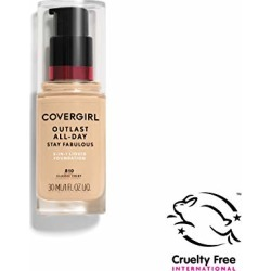 COVERGIRL Outlast All-Day Stay Fabulous 3-in-1 Foundation, 1 Bottle (1 oz), Classic Ivory Tone, Liquid Matte Foundation and SPF 20 Sunscreen (packaging may vary) found on Bargain Bro from  for $9.47