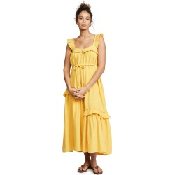 Apiece Apart Lypie Ruffle Tank Dress found on MODAPINS from shopbop for USD $395.00