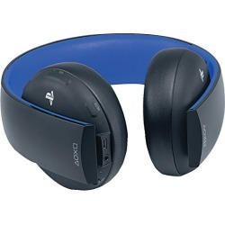 PlayStation Gold Wireless Stereo Headset - Jet Black [Old Model] found on Bargain Bro from  for $134.9