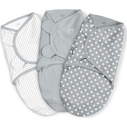 SwaddleMe Original Swaddle 3PK, Criss Cross Polka Dot, Small (0-3 Months, 7-14 lbs) found on Bargain Bro from  for $29