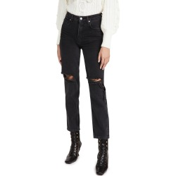 PAIGE Sarah Straight Jeans found on Bargain Bro India from shopbop for $239.00