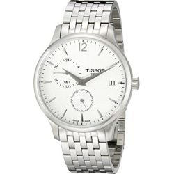 Tissot Men's T0636391103700 Tradition Analog Display Swiss Quartz Silver Watch found on Bargain Bro from  for $321.62