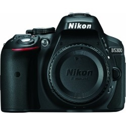 Nikon D5300 24.2 MP CMOS Digital SLR Camera with Built-in Wi-Fi and GPS Body Only (Black) found on Bargain Bro from  for $383