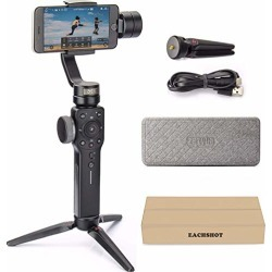 Zhiyun Smooth 4 3-Axis Handheld Gimbal Stabilizer w/Focus Pull & Zoom for iPhone Xs Max Xr X 8 Plus 7 6 SE Android Smartphone Samsung Galaxy S9+ S9 S8+ S8 S7 S6 Q2 Edge New Smooth-Q/III in 2018 Black found on Bargain Bro from  for $119