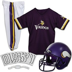 Franklin Sports NFL Minnesota Vikings Deluxe Football Uniform Set- Small found on Bargain Bro from  for $45.69