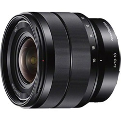 Sony - E 10-18mm F4 OSS Wide-angle Zoom Lens (SEL1018) found on Bargain Bro from  for $748