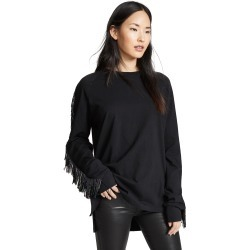 Baja East Beaded Fringe Long Sleeve Shirt found on MODAPINS from shopbop for USD $445.00
