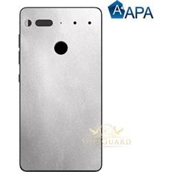Apa Satin Silver Metallic Essential Phone Ph1 Carbon Fiber Rear Panel Precision