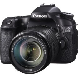 Canon EOS 70D Digital SLR Camera with 18-135mm STM Lens found on Bargain Bro from  for $1549