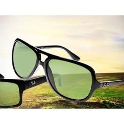 Ray-Ban RB4184 Black Square Sunglasses Ray-Ban RB4184 Black Square Sunglasses