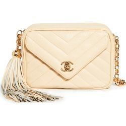 What Goes Around Comes Around Chanel Beige Camera Bag Mini