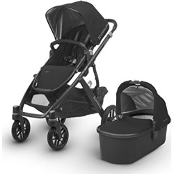 2018 UPPAbaby Vista Stroller -Jake (Black/Carbon/Black Leather) found on Bargain Bro from  for $929.99