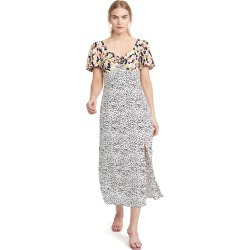 Glamorous Multi Abstract Spot Midi Dress found on MODAPINS from shopbop for USD $37.50