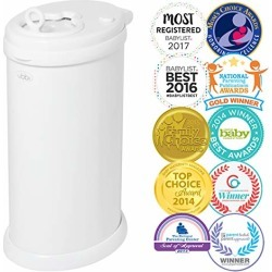 Ubbi Steel Odor Locking, No Special Bag Required Money Saving, Awards-Winning, Modern Design, Registry Must-Have Diaper Pail, White found on Bargain Bro from  for $69.99