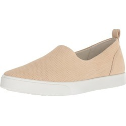 ECCO Women's Women's Gillian Casual Slip On Sneaker, Powder, 35 M EU (4-4.5 US) found on Bargain Bro from  for $50.95