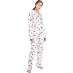 PJ Salvage Kiss Me Goodnight Flannel PJ Set