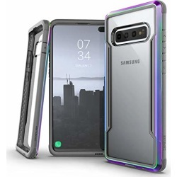 X-Doria Defense Shield Series, Samsung Galaxy S10 Plus Phone Case - Military Grade Drop Tested, Anodized Aluminum, TPU, and Polycarbonate Protective Case for Samsung Galaxy S10 Plus, (Iridescent) found on Bargain Bro from  for $29.95