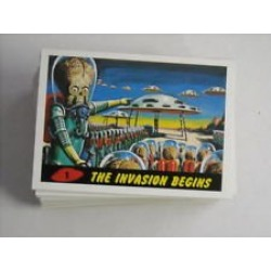 2012 Topps Mars Attacks Heritage Basic Set #1-55 + Subsets found on Bargain Bro from  for $