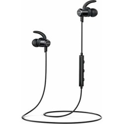 Anker SoundBuds Slim Wireless Headphones, Lightweight IPX5 Sweat Resistant Earbuds, Magnetic Connection, Nano Coating, High-Fidelity Sound, Built-in Mic, Bluetooth 4.1 Headset for Sports found on Bargain Bro from  for $25.99