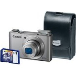 Canon PSS110SIL Powershot S110 6798b013 Battery Pack Nb-5l Battery Charger Cb-2lx Wrist Strap Ws-dc11 Usb Interface Cable Ifc-400pcu Digital Camera Solution Cd-rom found on Bargain Bro from  for $178