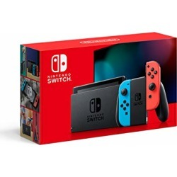 Nintendo Switch with Neon Blue and Neon Red Joy‑Con - HAC-001(-01) found on GamingScroll.com from Amazon US for $299