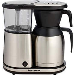 Bonavita BV1900TS 8-Cup One-Touch Coffee Maker Featuring Thermal Carafe, Stainless Steel found on Bargain Bro from  for $112.99