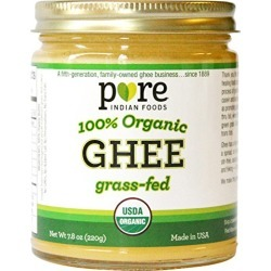 Grassfed Organic Ghee 7.8 Oz - Pure Indian Foods(R) Brand found on Bargain Bro from  for $14.95