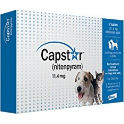 Capstar Fast-Acting Oral Flea Treatment for Dogs found on Bargain Bro from  for $32.99