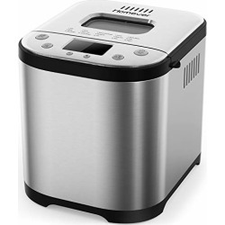 Homever Bread Maker [2019 Upgraded] - Automatic 2 Pound Bread Machine with SugarFree Setting, Fully Stainless Steel Bread Maker (15 Programs, 3 Sizes, 3 Colors, 15 Hours Delay Timer, 1 Hour Keep Warm) found on Bargain Bro from  for $78.99