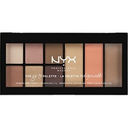 NYX PROFESSIONAL MAKEUP Go-to Palette, Wanderlust, 0.54 Ounce found on Bargain Bro from  for $7.95