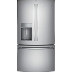 GE PFE28KSKSS Profile 27.8 Cu. Ft. Stainless Steel French Door Refrigerator - Energy Star found on Bargain Bro from  for $2599.99