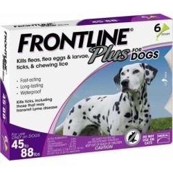 Frontline Plus for Dogs, Purple
