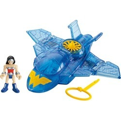 Fisher-Price Imaginext DC Super Friends, Wonder Woman & Invisible Jet found on Bargain Bro from  for $25.09