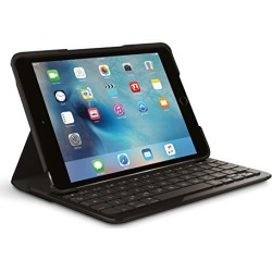 Logitech FOCUS Protective Case with Integrated Keyboard for iPad Mini 4, Black found on Bargain Bro from  for $51.99