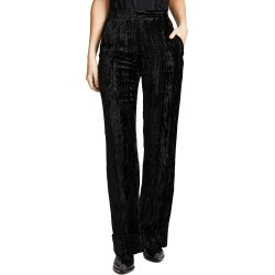 Anais Jourden Crushed Velvet Trousers found on MODAPINS from shopbop for USD $148.50