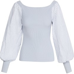 Adeam Puff Sleeve Sweater found on MODAPINS from shopbop for USD $725.00