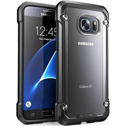 Galaxy S7 Case, SUPCASE Unicorn Beetle Series Premium Hybrid Protective Frost Clear Case for Samsung Galaxy S7 2016 Release, Retail Package (Frost/Black) found on Bargain Bro from  for $13.99
