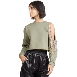 Area Pullover Sweatshirt with Cutout Shoulder found on MODAPINS from shopbop for USD $495.00