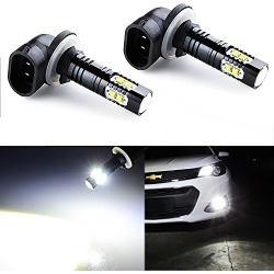 JDM ASTAR Extremely Bright Max 50W High Power 881 LED Fog Light Bulbs for DRL or Fog Lights, Xenon White found on Bargain Bro from  for $24.99