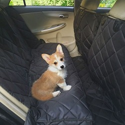 PEEKABOO Dog Car Back Seat Cover - Pet Protector Hammock Waterproof for Truck SUV Extra Large found on Bargain Bro from  for $29.96