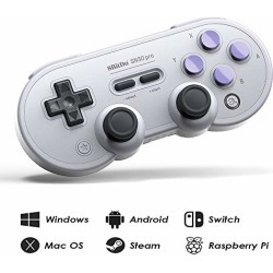 8Bitdo SN30 Pro Wireless Bluetooth Controller with Joysticks Rumble Vibration USB-C Cable Gamepad for Windows, Mac OS, Android, Steam, etc, Compatible with Nintendo Switch found on Bargain Bro from  for $44.99