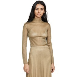 Vince Metallic Ribbed Mock Neck Sweater found on Bargain Bro India from shopbop for $178.75