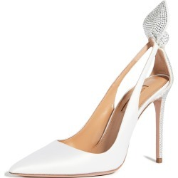 Aquazzura Bow Tie Crystal Pump 105mm found on Bargain Bro Philippines from shopbop for $1195.00