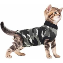Suitical Recovery Suit for Cats Camo