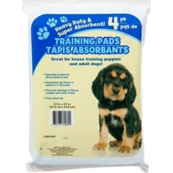 Paw Print Training Pads by Greenbrier found on Bargain Bro from  for $4.9