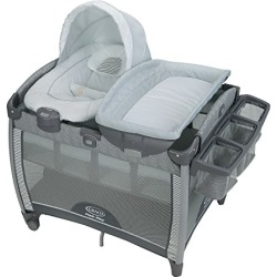 Graco Pack 'n Play Quick Connect Playard and Removable Portable Bouncer, Raleigh found on Bargain Bro from  for $219.99