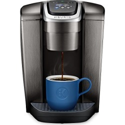 Keurig K-Elite Coffee Maker, Single Serve K-Cup Pod Coffee Brewer, With Iced Coffee Capability, Brushed Slate found on Bargain Bro from  for $129