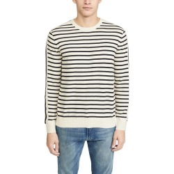 Club Monaco Long Sleeve Strapped Striped Crew Neck Sweater found on Bargain Bro India from Eastdane AU/APAC for $64.75